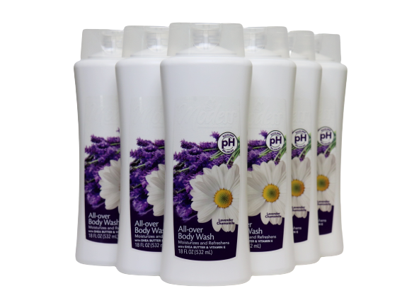 18 Oz Modess Lavender Chamomile Body Wash