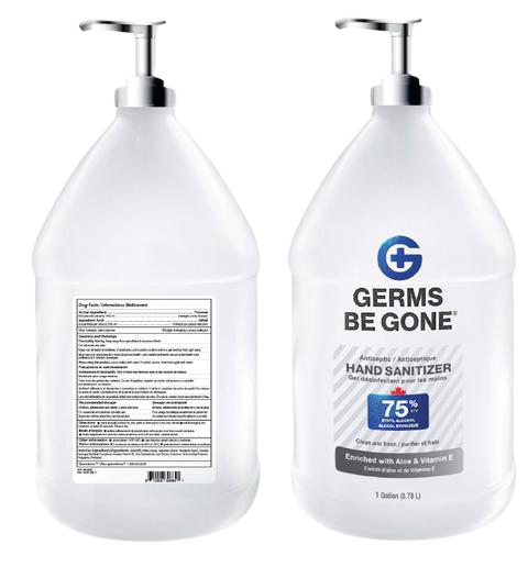1 Gallon- Germs Be Gone 75% Alcohol Hand Sanitizer